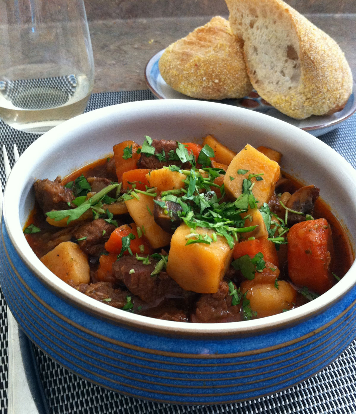 Irish Stew Weißkohl