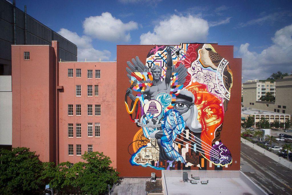 Alexander Lofts - Alexander Lofts Mural