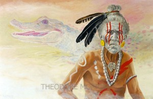 Jeaga-Tribe-Alligator-Clan-Chief-by-Theodore-Morris