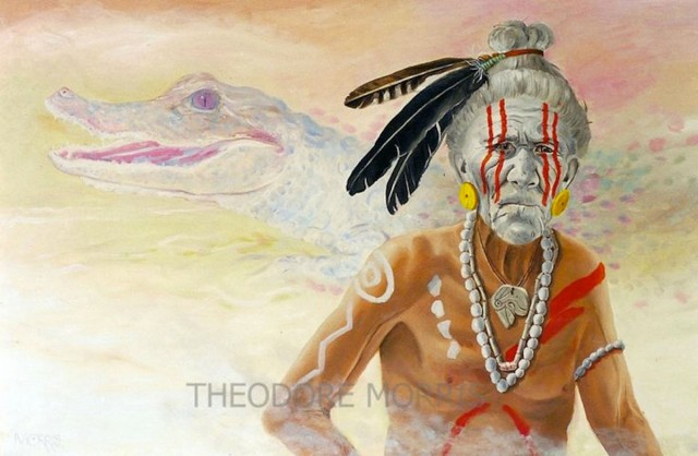 Jeaga-Tribe-Alligator-Clan-Chief-by-Theodore-Morris
