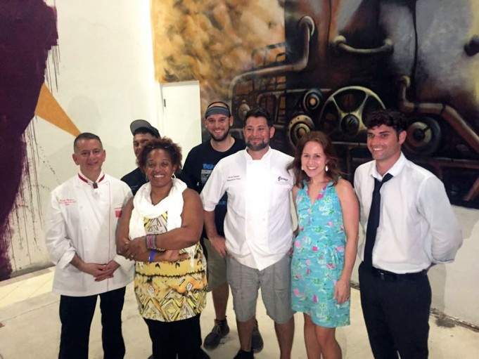 The-winning-team-of-chefs-from-Hullabaloo-and-judges