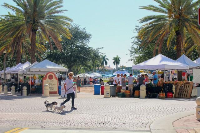 West Palm Beach GreenMarket Opens on October 3