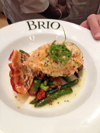 Brio's-lobster-dish