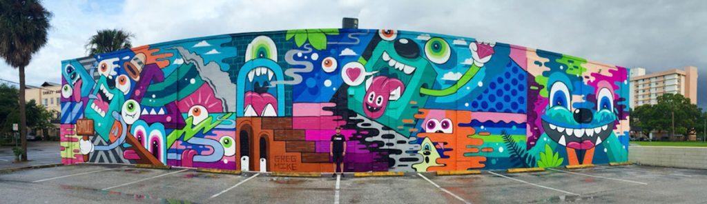 Greg Mike mural