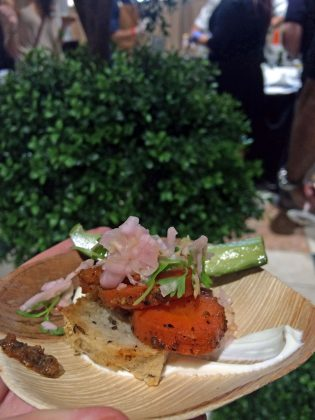 Palm Beach Food and Wine Festival Sampes