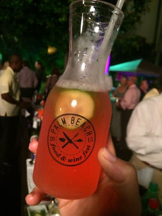 Palm Beach Food and Wine Festival Drink Sampling
