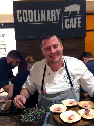 Palm Beach Food and Wine Festival -Smiling-Chef