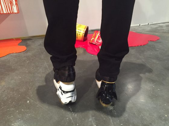 Dana Donaty Star Wars shoes