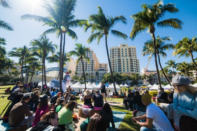 Annual Fresh Fest in Downtown West Palm Beach