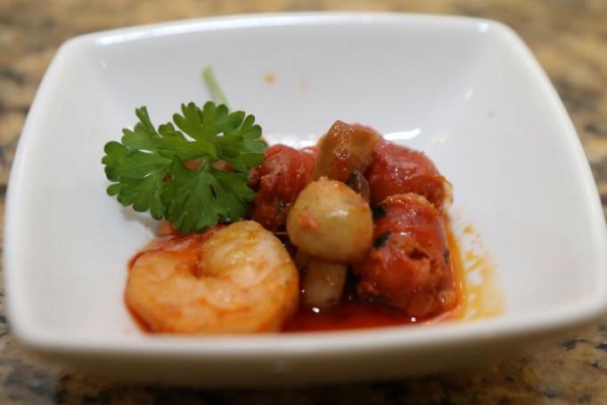 ... chorizo and shrimp wild rice shrimp bake paella shrimp chorizo paella