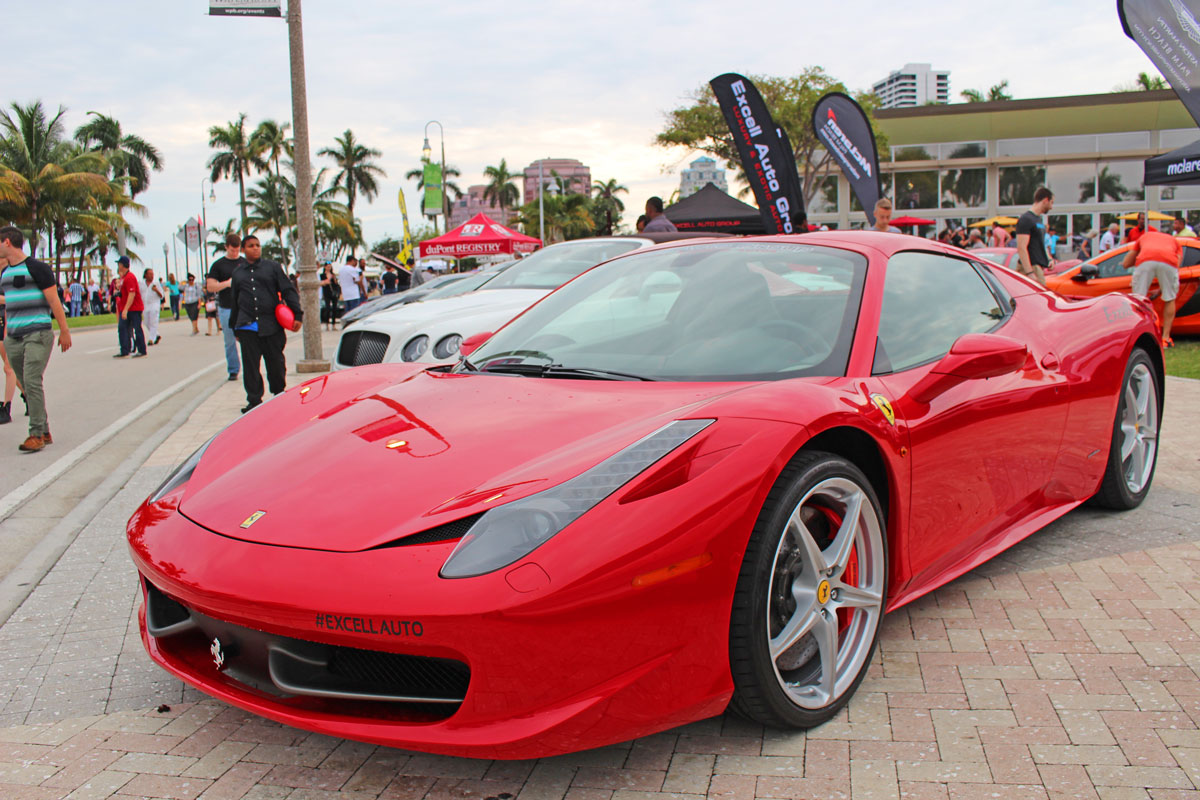 West Palm Beach Waterfront Car Show