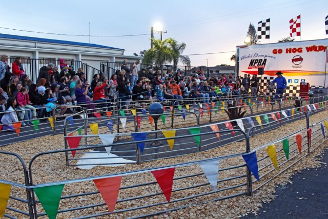 The Swiftest Swines Race at the South Florida Fair
