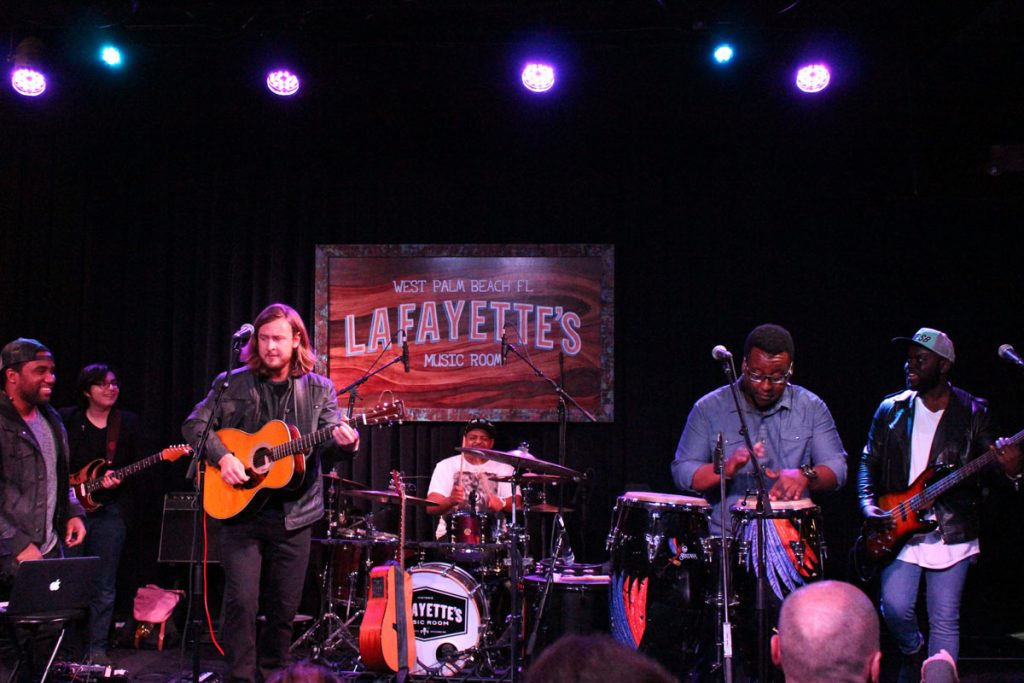 The Ethan Parker Band at the 2016 battle ot the bands