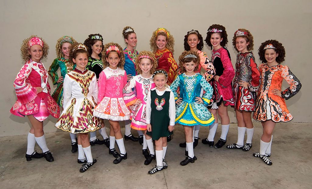 Irish Dancers at Irish Fest on Flagler