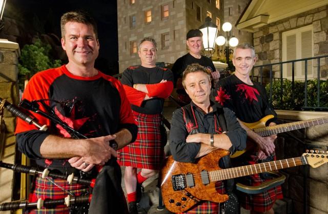 Off Kilter Music Band at Irish Fest on Flagler