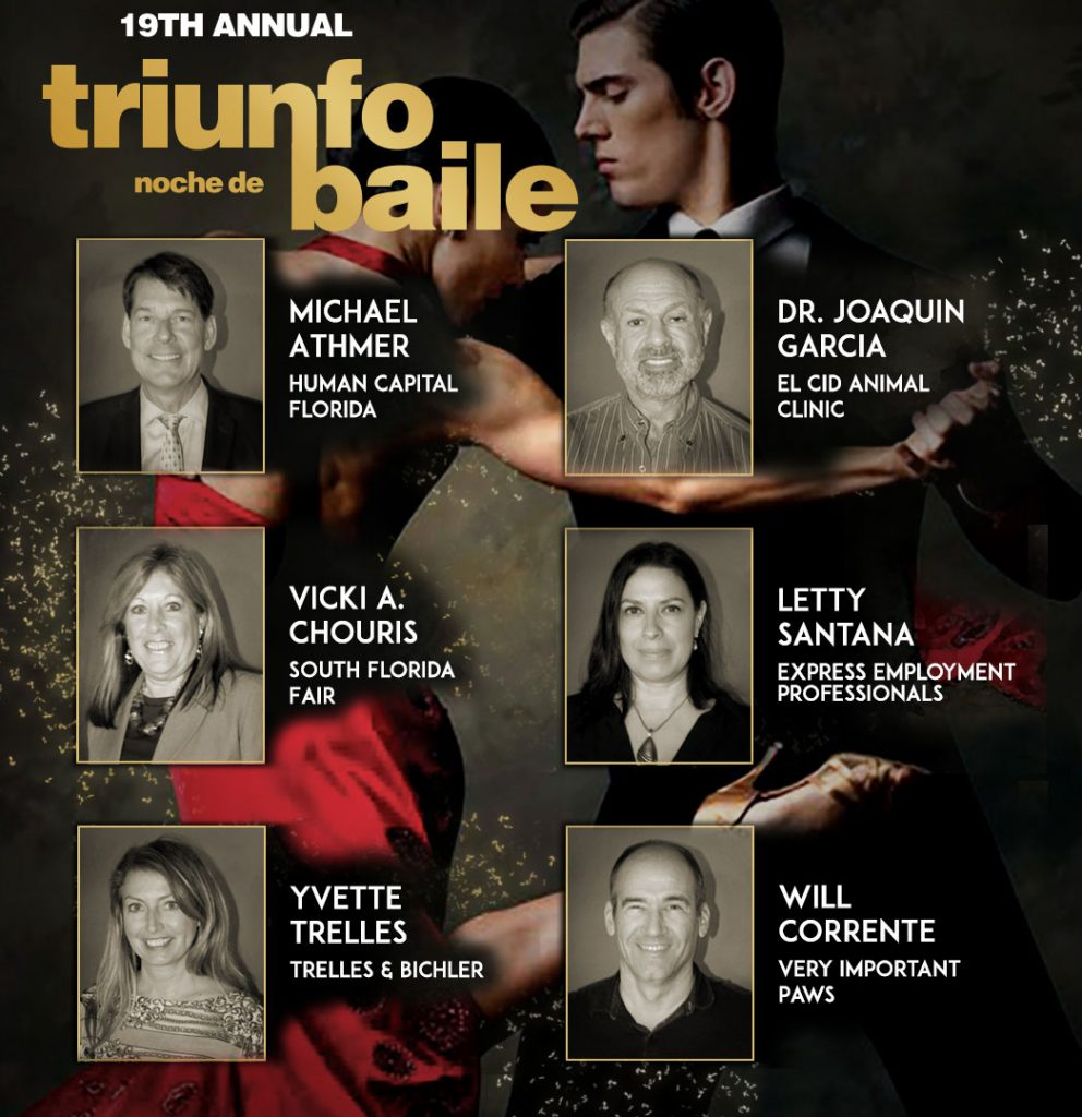 Dancers at Triunfo Benefit Gala