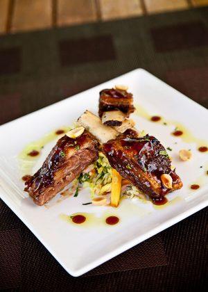 Meat Market Asian BBQ Ribs | Photo: Michael Pisarri