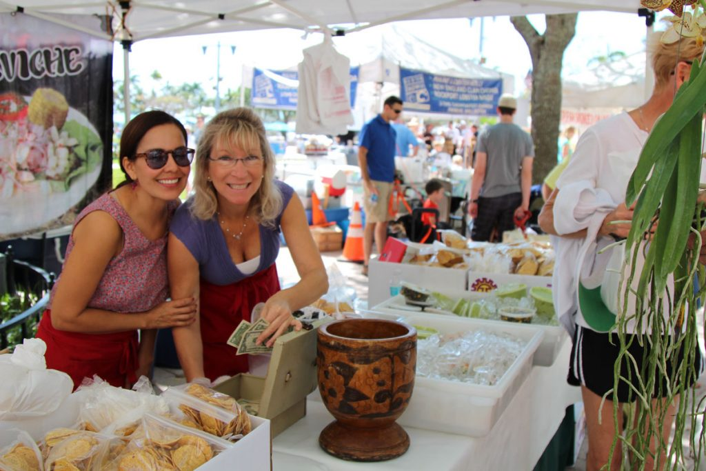 Vendors at West Palm Beach GreenMarket