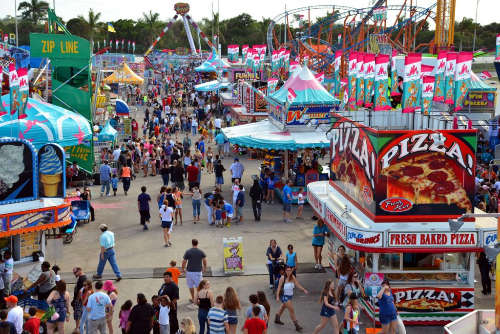 Mardi Gras Time at South Florida Fair 2017