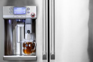 First-Refrigerator-with-Built-in-Coffee-Maker