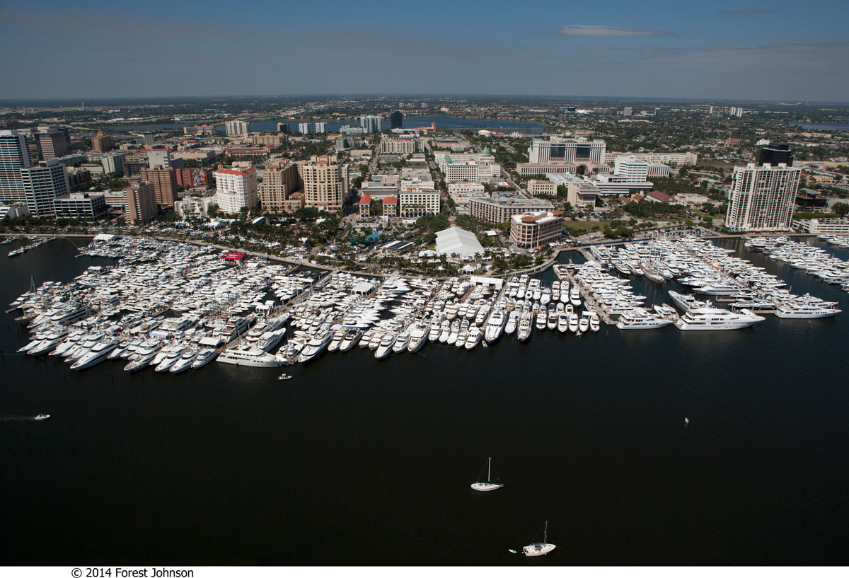 The 30th Annual Palm Beach International Boat Is