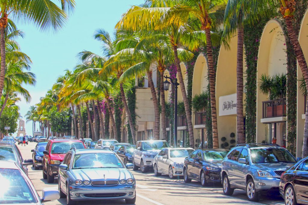 Worth Ave has been recognized as one of 10 Most Iconic Streets in America.