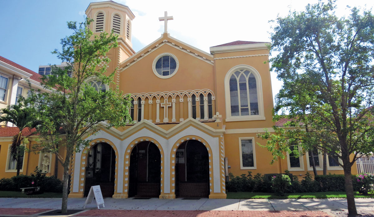 Saint Ann Church In Downtown