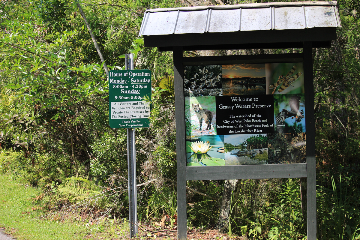 Grassy Waters Nature Preserve Hours