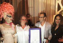 Drag-Queen-Adora,-Cosmo-Creator-Cheryl-Cook,-City-Commissioner-Michael-Grieco,-Hostess-Tara-Solomon