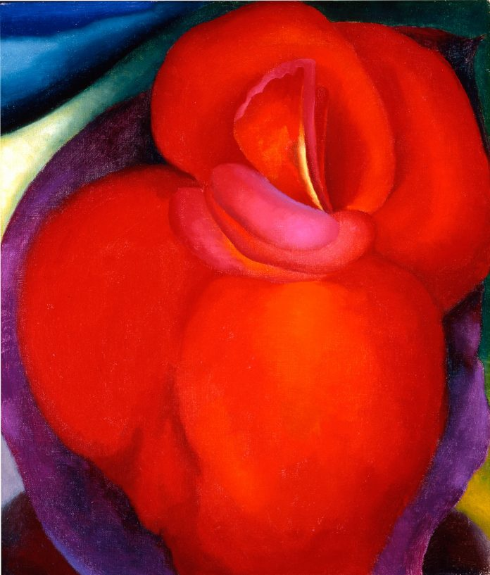 Georgia-OKeeffe--Red-Flower-