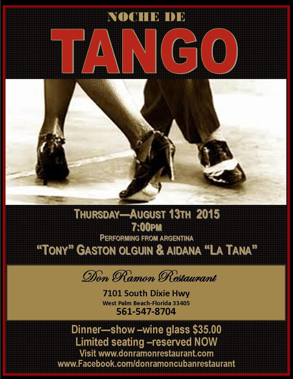 Tango Night at Don Ramon