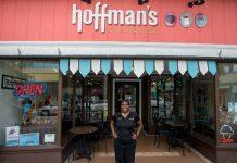 Lori Durante at Hoffmsn's Chocolates in Lake Worth