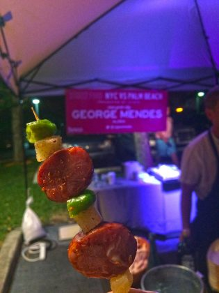 Palm Beach Food and Wine Festival Sample