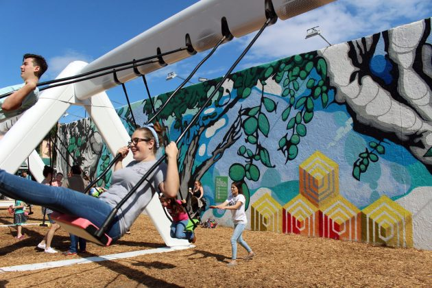 Musical Swings in West Palm Beach