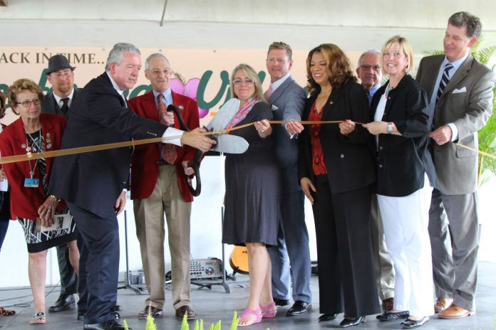 Ribbon Cutting Ceremony at Yesteryear Village