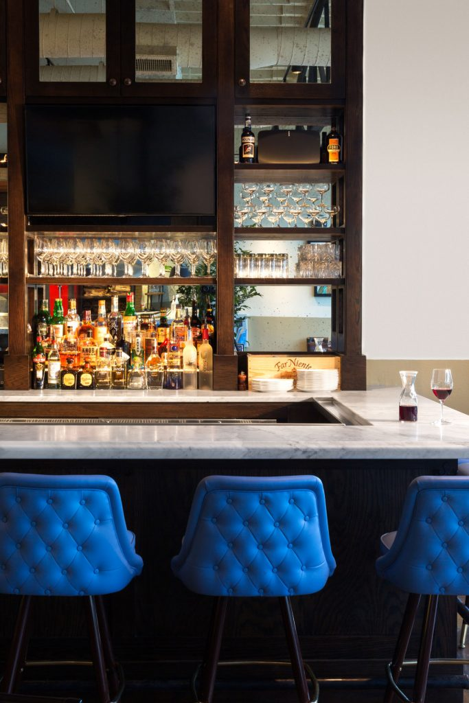 The Bar at Grato Restaurant. Photo Libbyvision