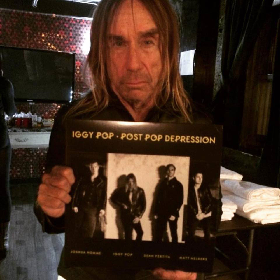 Iggy with new number one Punk Rock album
