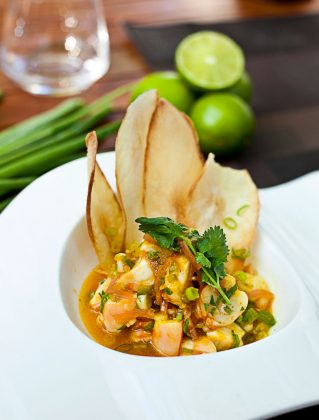 Meat Market Shrimp Ceviche | Photo: Michael Pisarri
