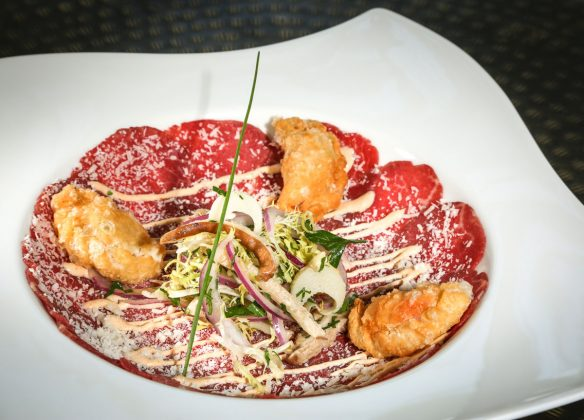 Meat Market Wagyu Carpaccio | Photo: Ben Rusnak