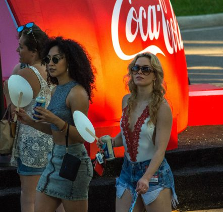 Women-Cooling-Off-at-SunFest-WPB-Fashion-Trends