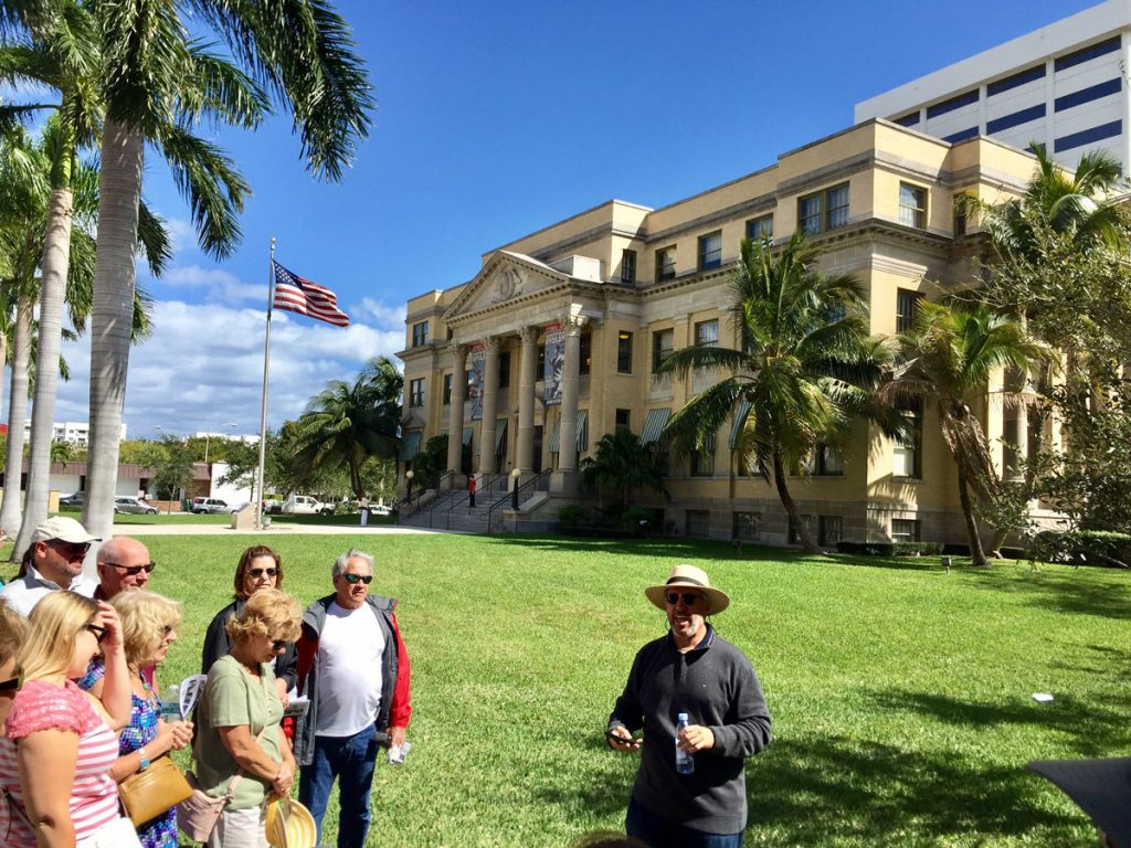 Downtown West Palm Beach History Strolls - WPB Magazine | Art