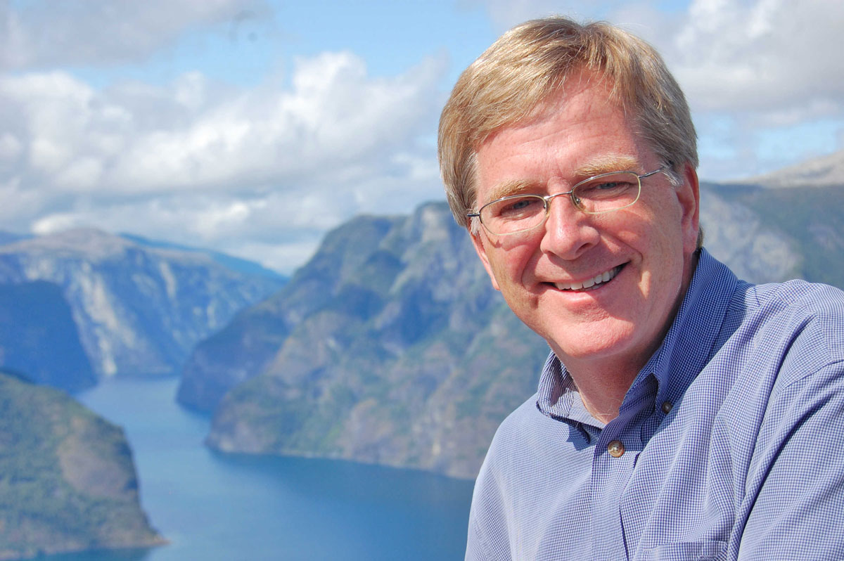 Famous Steves with regard to life on the road with travel writer rick steves -