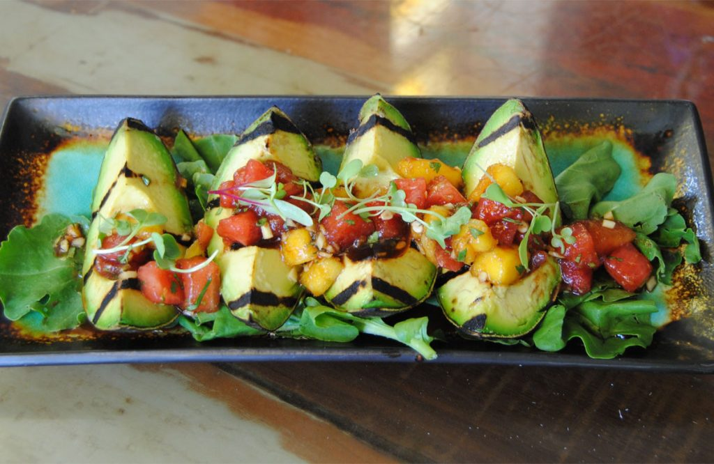 Chef Gremaud's favorite Grilled Avocado Wedges.