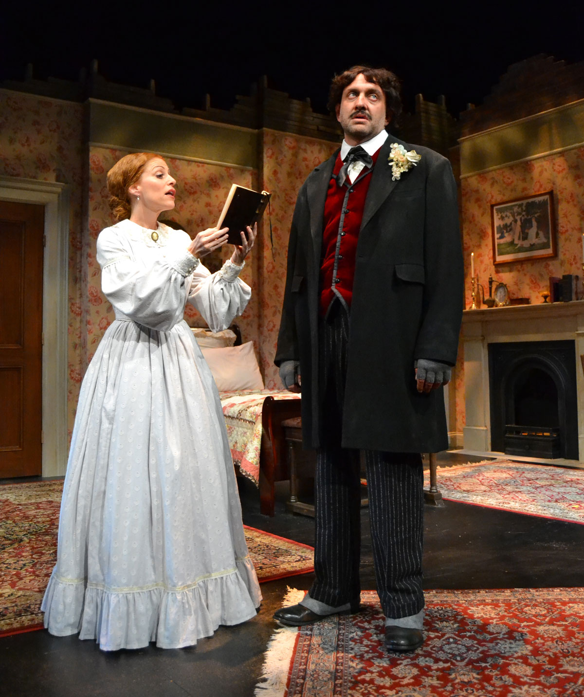 """""""Edgar & Emily,"""" The Fantastic Tale of Two Scribes United by Fate"""