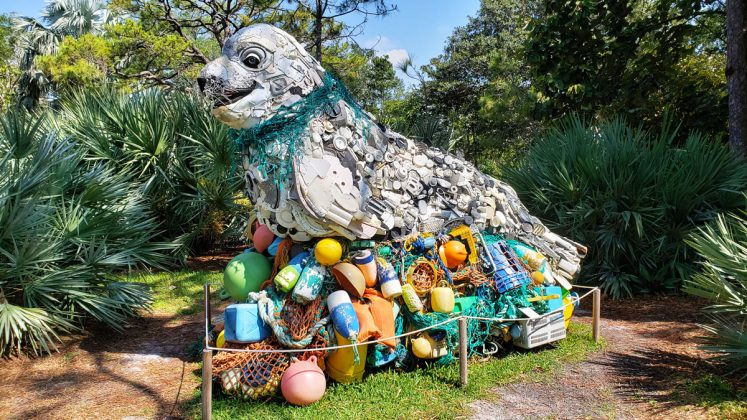 Washed Ashore: Art to Save the Sea at Mounts Botanical Garden