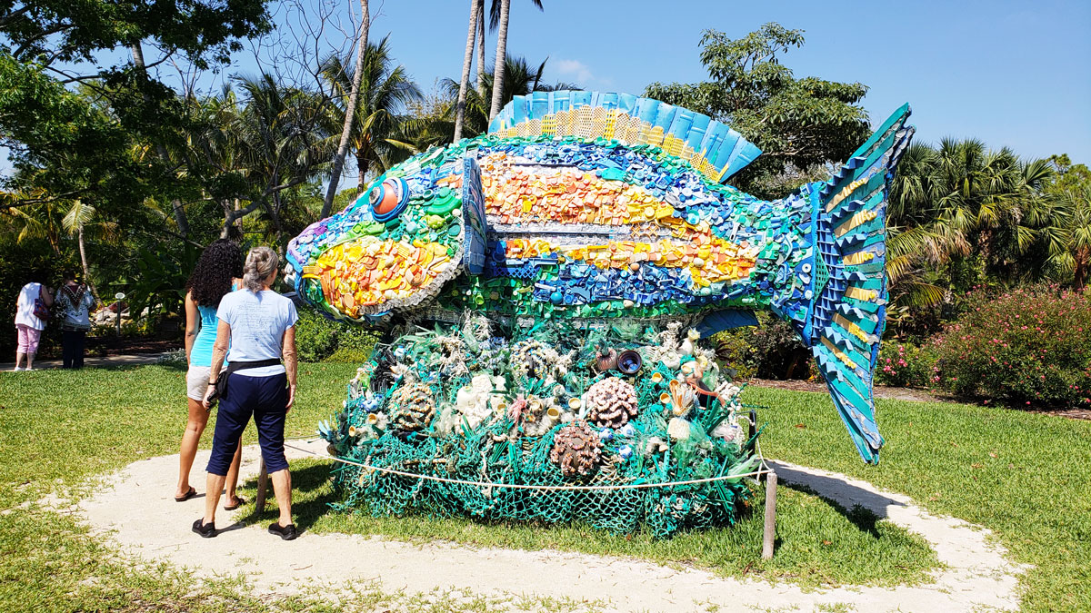 Ashore: Art to Save the Sea at Mounts Botanical Garden