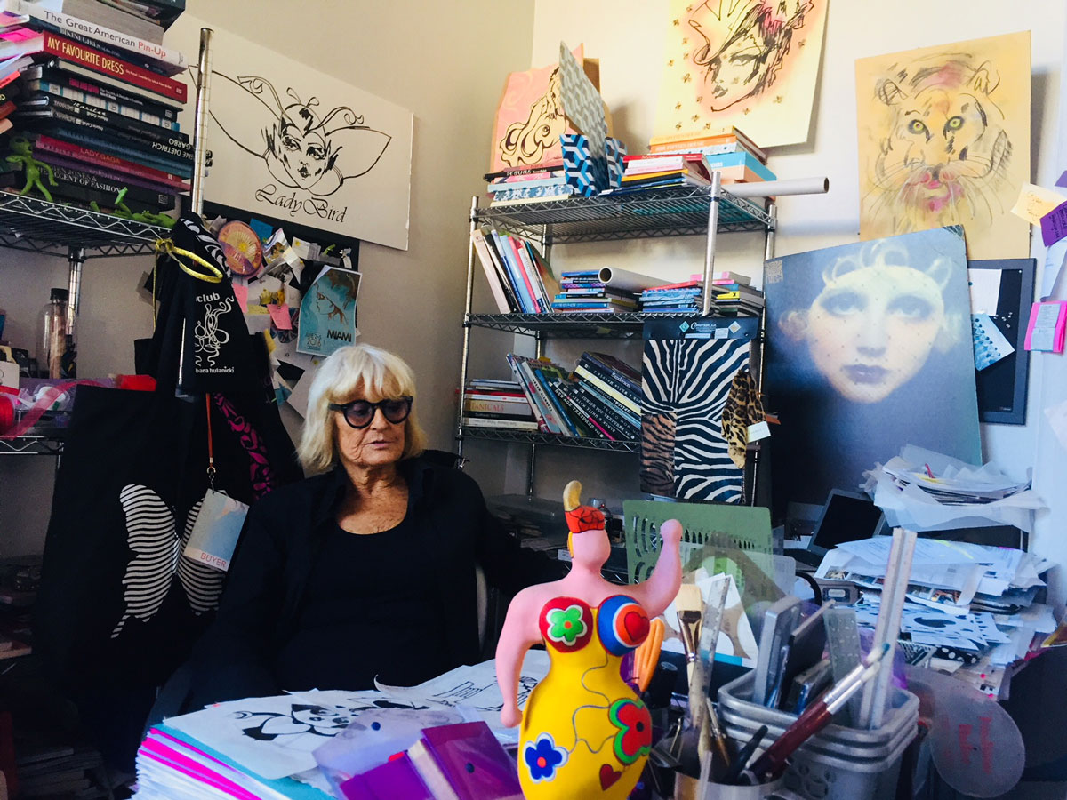 Artist Barbara Hulanicki of BIBA Honored at High Gloss