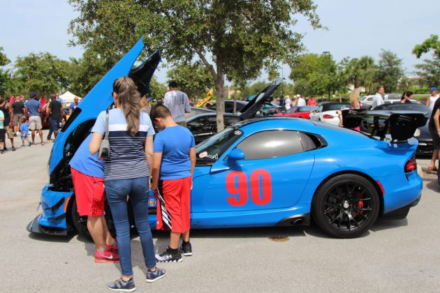Palm Beach Outlet's Cars & Coffee