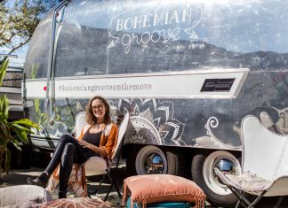 Brittany Reilly, Founder of Bohemian Groove on the Move