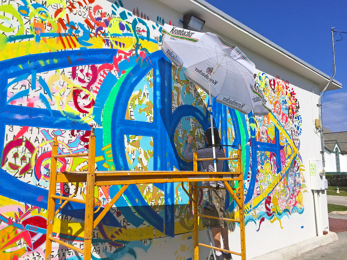 Mural, Music and RAWK Art Show to Benefit Lighthouse ArtCenter